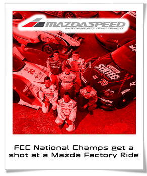 Mazdaspeed Announces 2012 FCC presented by Goodyear Awards